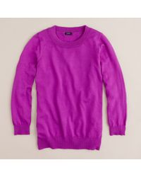 J.Crew | Purple Tippi Sweater | Lyst