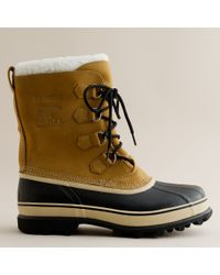 J.Crew | Brown Sorel® Caribou® Boots | Lyst