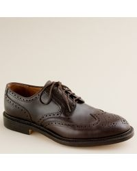 J.Crew | Brown Preston Wing Tips for Men | Lyst