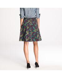 J.Crew | Multicolor Elsie Skirt in Nightfall Floral | Lyst
