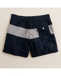 J.Crew | Blue Saturdays Grannis Trunks for Men | Lyst