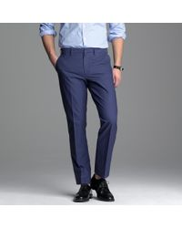 J.Crew - Blue Bowery Overdye Oxford in Classic Fit for Men - Lyst