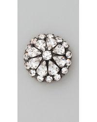 DANNIJO - Metallic Phillipa Earrings - Lyst