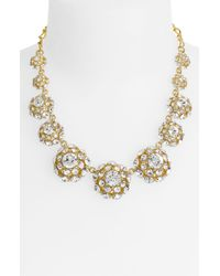 kate spade new york | Metallic Putting On The Ritz Graduated Necklace | Lyst