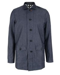Nudie Jeans | Blue Indigo Hands Collection - Jacob Denim Jacket for Men | Lyst