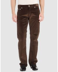 Love Moschino | Brown Love Moschino - Casual Pants for Men | Lyst