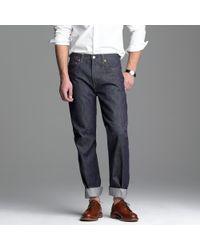 J.Crew | Blue Levis® Vintage Clothing 501xx® Rigid for Men | Lyst