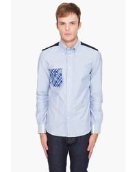 Junya Watanabe | Blue Buttondown Shirt for Men | Lyst