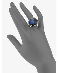 Ippolita | Blue 18k Gold Large Stone Ring | Lyst