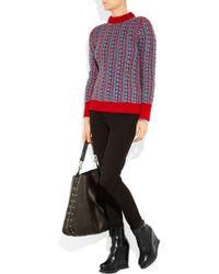 Jil Sander - Black Leather Wedge Ankle Boots - Lyst