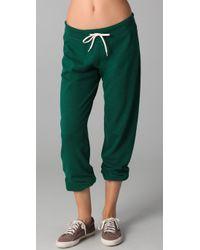 Monrow | Green Vintage Sweatpants | Lyst
