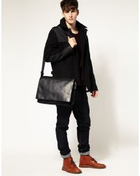 Calvin Klein - Black Messenger Bag for Men - Lyst