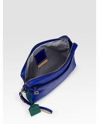 Reed Krakoff | Blue Voyage Leather Clutch/ipad Case | Lyst
