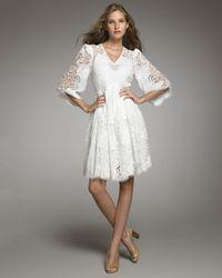 Stella McCartney   White Cutwork Dress   Lyst