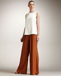Fendi | Brown Full Pants | Lyst