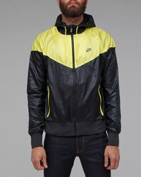 Nike | Black Windrunner Jacket for Men | Lyst