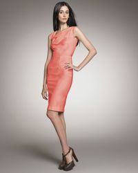 Roland Mouret | Pink Exclusive Skiffins Dress, Coral | Lyst