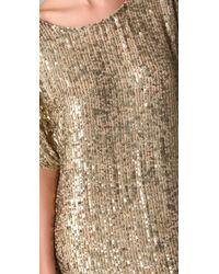 Vince - Metallic Sequined Dress - Lyst