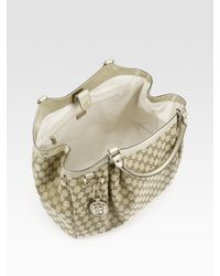 Gucci - Metallic Sukey Large Top Handle Bag - Lyst