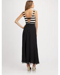 Alice + Olivia | Black Laken Long Tank Dress | Lyst