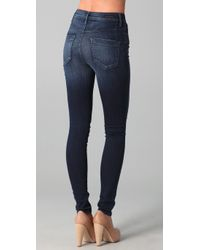Citizens of Humanity - Blue Poison Ultra High Skinny Jeans - Lyst