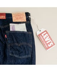 J.Crew | Blue Levis® Vintage Clothing 501xx® Jean in Rough Rinse for Men | Lyst
