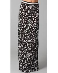 Cut25 by Yigal Azrouël | Black Long Skirt with Slit | Lyst