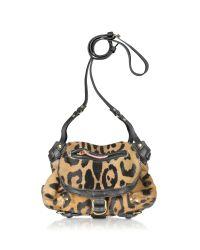 Jérôme Dreyfuss | Multicolor Twee Mini Leopard-print Calf Hair Shoulder Bag | Lyst