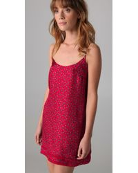 Juicy Couture - Red Pixie Silk Nighty - Lyst