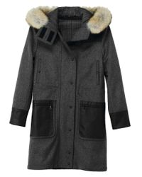 Rag & Bone | Gray Belfast Coat | Lyst