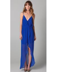 Rory Beca | Blue Jones Wrap Gown | Lyst