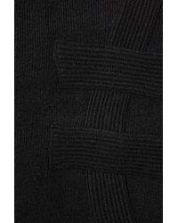 TOPSHOP | Black Ribbed Maxi Dress By Boutique | Lyst