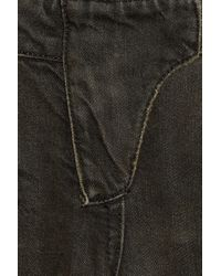 Balmain | Black Faded Mid-rise Skinny Motocross Jeans | Lyst