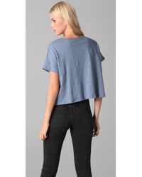 Elizabeth and James - Blue Panther Tee - Lyst