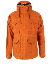 Filson | Orange Fisherman Parka Jacket for Men | Lyst