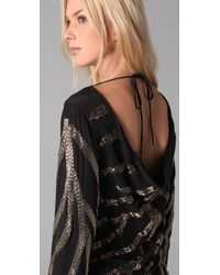 Sheri Bodell | Black Casino Cocktail Dress | Lyst