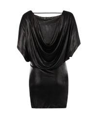 AllSaints | Black Maxina Dress | Lyst