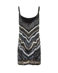 AllSaints | Blue Erodes Dress | Lyst
