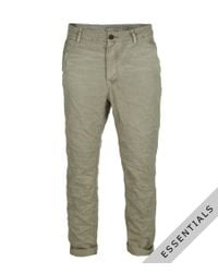 AllSaints | Natural Growl Chino for Men | Lyst