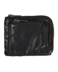 AllSaints | Black Effra Wallet for Men | Lyst