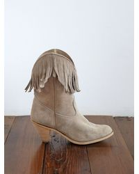 Free People | Natural Vintage Cowboy Boots | Lyst