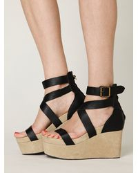 Free People | Black Fortuna Platform | Lyst