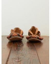 Free People - Brown Vintage Huarache Sandals - Lyst