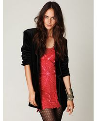 Free People - Pink Icy Embellished Dress - Lyst