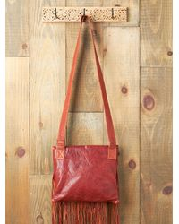 Free People - Red Palenke Nomad Bag - Lyst