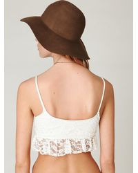 Free People - White Frenchie Top - Lyst