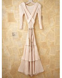 Free People | Natural Vintage Mary Mcfadden Gown | Lyst
