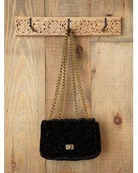 Free People | Black Madame C Clutch | Lyst