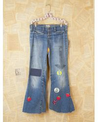Free People | Blue Levi's 1967 Customized 505 | Lyst