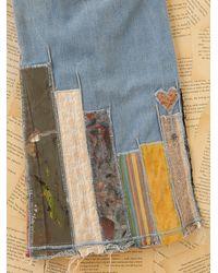 Free People - Blue Vintage Strawberry Fields Britannia Jeans - Lyst